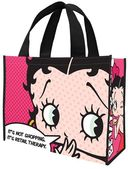 Betty Boop Retail Therapy Large Recycled Shopper