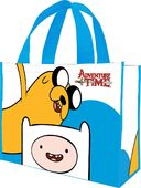 Adventure Time - Large Recycled Shopper Tote