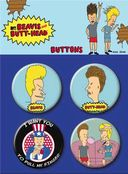 Beavis and Butt-Head - Carded 4 Button Set