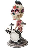 Day of the Dead Bobblehead - Drummer