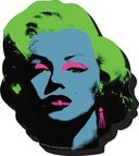 Marilyn Monroe - Pop Art - Chunky Magnet