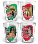 A Christmas Story - Sayings Shot Glass 4-pack