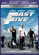 Fast Five (DVD + Blu-ray + Digital Copy)