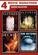4 Movie Marathon: Horror Collection (Slither /