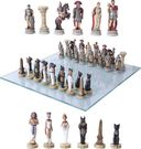 Romans vs. Egyptians - Chess Set