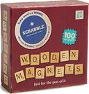 Scrabble - Wooden Magnets - 100 Piece Set