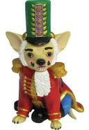 Aye Chihuahua - Nutcracker - Ornament