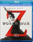 World War Z 3D (Blu-ray + DVD)