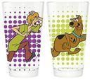 Scooby Doo - 16 oz. Pint Glass Set of 2