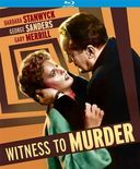 Witness to Murder (Blu-ray)