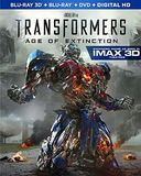 Transformers: Age of Extinction 3D (Blu-ray + DVD)