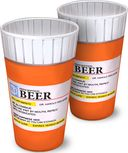 Prescription Bottle - Pint Glasses
