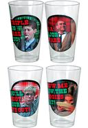 A Christmas Story - Plaid Exclamation Pint Glass