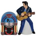 Elvis Presley - Playing Guitar - Salt & Pepper