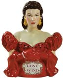 Gone With The Wind - Scarlett In Red Dress -