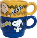Peanuts - Best Friends - 6 oz. Stackable Mugs