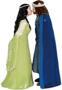 Lord of The Rings - Aragorn & Arwen Salt & Pepper
