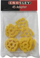 Crosley 45 RPM Plastic Inserts (Pack of 12)