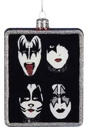 Kiss - Poster - Glass Ornament