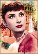 Audrey Hepburn - Roman Holiday - Photo Magnet