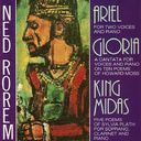 Ned Rorem - Ariel / Gloria / King Midas