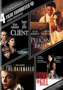 4 Film Favorites: John Grisham (The Client / The