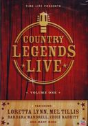 Country Legends Live, Volume 1 Boxart