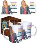 Parks & Recreation - Work is Third - Boxed Mug
