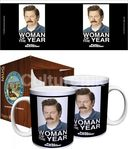 Parks & Recreation - Woman of the Year - Boxed Mug