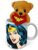 DC Comics - Wonder Woman - Face 11 oz. Cuddle Cup