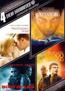 4 Film Favorites: Leonardo DiCaprio