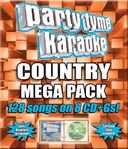 Party Tyme Karaoke: Country Mega Pack (8-CD Box