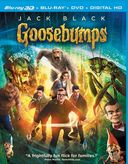 Goosebumps 3D (Blu-ray + DVD)