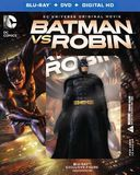 Batman vs Robin [Deluxe Edition] (Blu-ray + DVD +