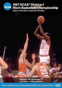 Basketball - 1987 NCAA Championship: Indiana vs.