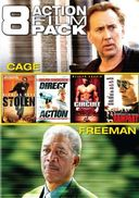8 Action Film Pack (Stolen / Direct / The Circuit