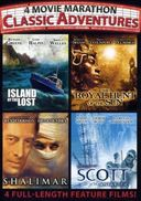 4 Movie Marathon: Classic Adventures (Island of