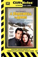 A Farewell to Arms (Cliffsnotes Edition,