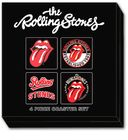 The Rolling Stones - Icons: 4 Piece Coaster Set