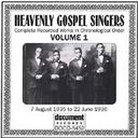 Heavenly Gospel Singers, Volume 1 (1935-1936)