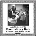 An Afternoon with Reverend Gary Davis at