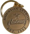 Baseball - Houston Astros - Bronze Key Chain