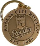 Baseball - Kansas City Royals - Bronze Key Chain