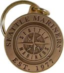 Baseball - Seattle Mariners - Bronze Key Chain