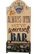Always Open, Serve Yourself Bar - Wall-Mounted