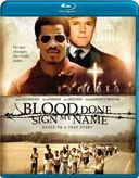 Blood Done Sign My Name (Blu-ray)