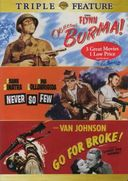 War Triple Feature: Objective, Burma! (Full