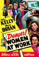 "Danger! Women at Work - 11"" x 17"" Poster"
