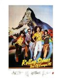 The Rolling Stones - 1976 European Tour Poster