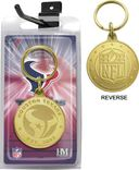 Football - Houston Texans Bronze Bullion Keychain